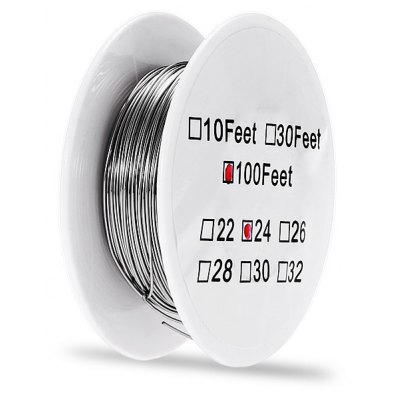 0.51mm Diameter Kanthal Resistance Wire Roll E - cigarette Coils for Atomizers DIY ( 100 Feet )