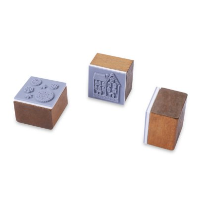 3PCS Mini Cute Retro Style Stamp