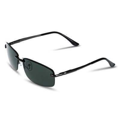 NANKA Rectangular Sunglasses with Colored Polarized Lens