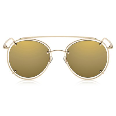 SENLAN Round Sunglasses with Colored LensStylish Sunglasses<br>SENLAN Round Sunglasses with Colored Lens<br><br>Brand: SENLAN<br>For: Climbing, Cross-country, Home use<br>Frame material: Metal<br>Lens material: High quality PC<br>Nose pad: Comfortable silicon<br>Package Contents: 1 x SENLAN Sunglasses, 1 x Drawstring Bag, 1 x Cloth, 1 x Leather Box<br>Package size (L x W x H): 20.00 x 9.00 x 6.00 cm / 7.87 x 3.54 x 2.36 inches<br>Package weight: 0.1500 kg<br>Product size (L x W x H): 14.00 x 15.50 x 5.50 cm / 5.51 x 6.1 x 2.17 inches<br>Product weight: 0.0330 kg<br>Type: Sports glasses