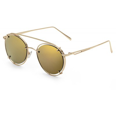SENLAN Round Sunglasses with Colored Lens