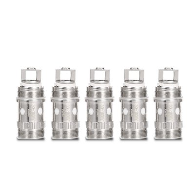 Original Eleaf iStick EC Coil HeadVapor Accessories<br>Original Eleaf iStick EC Coil Head<br><br>Accessories type: Atomizer Heater Core<br>Available Color: Silver<br>Brand: Eleaf<br>Material: Cotton, Stainless Steel<br>Package Contents: 5 x 0.5ohm EC Coil Head<br>Package size (L x W x H): 1.30 x 3.00 x 6.10 cm / 0.51 x 1.18 x 2.4 inches<br>Package weight: 0.0730 kg<br>Product size (L x W x H): 1.20 x 1.20 x 2.70 cm / 0.47 x 0.47 x 1.06 inches<br>Product weight: 0.0090 kg<br>Resistance : 0.5ohm<br>Type: Electronic Cigarettes Accessories