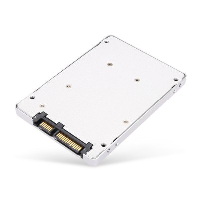 mSATA SSD to 2.5 inch SATA SSD Adapter CaseHDD &amp; SSD<br>mSATA SSD to 2.5 inch SATA SSD Adapter Case<br><br>Color: Silver<br>Control Chip: NO<br>External Interface: mSATA<br>Package Size(L x W x H): 11.00 x 8.00 x 1.80 cm / 4.33 x 3.15 x 0.71 inches<br>Package weight: 0.0930 kg<br>Packing List: 1 x mSATA SSD to 2.5 inch SATA Adapter Case, 1 x Screwdriver, 1 x Pack of Screws<br>Product Size(L x W x H): 10.00 x 7.00 x 0.80 cm / 3.94 x 2.76 x 0.31 inches<br>Product weight: 0.0490 kg<br>Size: 2.5 inch<br>System support: Windows, Mac OS, Linux<br>Type: External Enclosure