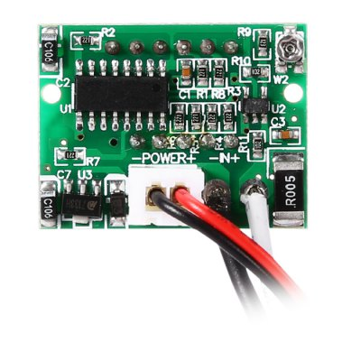 HakkaDeal C20D DC 0 - 5A 0.36 LED Ammeter ModuleDIY Parts &amp; Components<br>HakkaDeal C20D DC 0 - 5A 0.36 LED Ammeter Module<br><br>Brand: HakkaDeal<br>Model: C20D<br>Package Contents: 1 x LED Ammeter Module<br>Package Size(L x W x H): 5.00 x 4.00 x 3.00 cm / 1.97 x 1.57 x 1.18 inches<br>Package weight: 0.0250 kg<br>Product Size(L x W x H): 2.90 x 2.20 x 1.80 cm / 1.14 x 0.87 x 0.71 inches<br>Product weight: 0.0110 kg<br>Type: Other