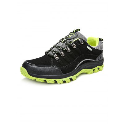 Outdoor Unisex Hiking SneakersHiking Shoes<br>Outdoor Unisex Hiking Sneakers<br><br>Available Size: 35, 36, 37, 38, 39, 40, 41, 42, 43, 44, 45, 46<br>Features: Anti-slip, Breathable, Durable<br>Gender: Unisex<br>Highlights: Breathable<br>Package Contents: 1 x Pair of Sneakers<br>Package size: 33.00 x 22.00 x 12.00 cm / 12.99 x 8.66 x 4.72 inches<br>Package weight: 1.3000 kg<br>Product weight: 0.9000 kg<br>Season: Winter, Summer, Spring, Autumn<br>Size: 35,36,37,38,39,40,41,42,43,44<br>Sole Material: EVA, Rubber<br>Type: Hiking Shoes<br>Upper Height: Low