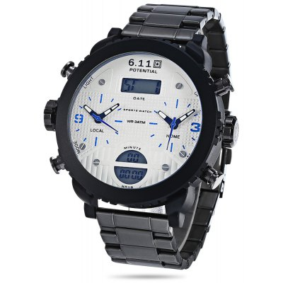 6.11 8159 Dual Movt Watch for Male