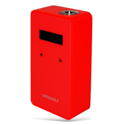 Original Snowwolf 200W Plus ModTemperature Control Mods<br>Original Snowwolf 200W Plus Mod<br><br>Accessories type: MOD<br>Adjustable voltage range: 0.5 - 7.5V<br>APV Mod Wattage: 235W<br>APV Mod Wattage Range: Over 200W<br>Battery Quantity: 2pcs  ( not included )<br>Brand: SnowWolf<br>Material: Zinc Alloy<br>Mod: Temperature Control Mod,VV/VW Mod<br>Model: 200W Plus<br>Package Contents: 1 x Snowwolf 200W Plus Mod, 1 x USB Cable, 1 x English User Manual<br>Package size (L x W x H): 11.00 x 7.10 x 5.10 cm / 4.33 x 2.8 x 2.01 inches<br>Package weight: 0.2700 kg<br>Product size (L x W x H): 8.60 x 4.70 x 2.45 cm / 3.39 x 1.85 x 0.96 inches<br>Product weight: 0.1500 kg<br>Temperature Control Range: 100 - 300 Deg.C / 212 - 662 Deg.F<br>Type: Electronic Cigarettes Accessories