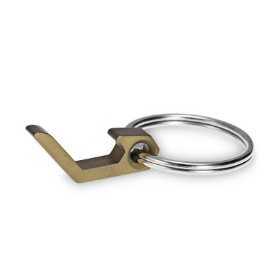 FURA TC4 Titanium Alloy Mini Bottle Opener / Flat ScrewdriverEDC Tools<br>FURA TC4 Titanium Alloy Mini Bottle Opener / Flat Screwdriver<br><br>Brand: FURA<br>Functions: Bottle opener,  flat screwdriver<br>Package Contents: 1 x FURA Bottle Opener / Flat Screwdriver with Ring<br>Package Dimension: 8.00 x 6.00 x 1.50 cm / 3.15 x 2.36 x 0.59 inches<br>Package weight: 0.0150 kg<br>Product Dimension: 4.60 x 2.50 x 1.00 cm / 1.81 x 0.98 x 0.39 inches<br>Product weight: 0.0040 kg