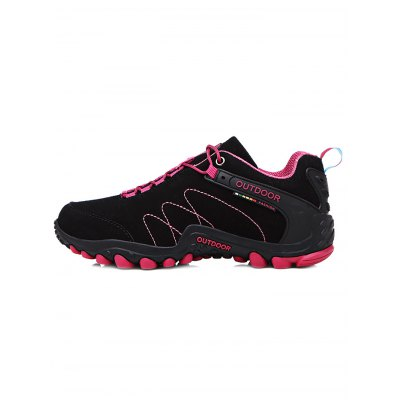 Outdoor Hiking Couple Sports ShoesWomens Sneakers<br>Outdoor Hiking Couple Sports Shoes<br><br>Available Size: 35, 36, 37, 38, 39, 40, 41, 42, 43, 44<br>Color: Black and Green,Black Red,Deep Blue,Deep Gray,Purple,Tutti Frutti<br>Features: Anti-slip, Breathable, Durable<br>Gender: Unisex<br>Highlights: Breathable<br>Package Contents: 1 x Pair of Sports Shoes<br>Package size: 33.00 x 22.00 x 13.00 cm / 12.99 x 8.66 x 5.12 inches<br>Package weight: 1.0460 kg<br>Product weight: 0.8000 kg<br>Season: Winter, Summer, Spring, Autumn<br>Size: 35,36,37,38,39,40,41,42,43,44<br>Sole Material: Rubber<br>Type: Hiking Shoes<br>Upper Height: Low