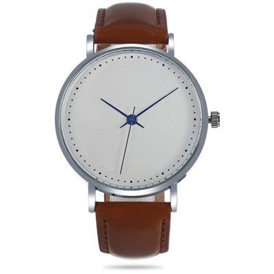 3003 Quartz Watch Leather Band Unisex WristwatchUnisex Watches<br>3003 Quartz Watch Leather Band Unisex Wristwatch<br><br>Band material: Leather<br>Band size: 24.00 x 2.00 cm / 9.45 x 0.79 inches<br>Case material: Alloy<br>Clasp type: Pin buckle<br>Dial size: 4.00 x 4.00 x 0.90 cm / 1.57 x 1.57 x 0.35 inches<br>Display type: Analog<br>Movement type: Quartz watch<br>Package Contents: 1 x Quartz Watch<br>Package size (L x W x H): 26.00 x 5.00 x 2.00 cm / 10.24 x 1.97 x 0.79 inches<br>Package weight: 0.0650 kg<br>People: Unisex table<br>Product size (L x W x H): 24.00 x 4.00 x 0.90 cm / 9.45 x 1.57 x 0.35 inches<br>Product weight: 0.0350 kg<br>Shape of the dial: Round<br>Watch color: Coffee, Black and Blue, Black + White<br>Watch style: Casual<br>Water resistance : Life water resistant<br>Wearable length: 18 - 22 cm / 7.08 - 8.66 inches
