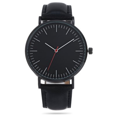 Fashion 3001 Quartz Watch Leather Band WristwatchUnisex Watches<br>Fashion 3001 Quartz Watch Leather Band Wristwatch<br><br>Band material: Leather<br>Band size: 24.00 x 2.00 cm / 9.45 x 0.79 inches<br>Case material: Alloy<br>Clasp type: Pin buckle<br>Dial size: 4.00 x 4.00 x 0.90 cm / 1.57 x 1.57 x 0.35 inches<br>Display type: Analog<br>Movement type: Quartz watch<br>Package Contents: 1 x 3001 Quartz Watch<br>Package size (L x W x H): 26.00 x 5.00 x 2.00 cm / 10.24 x 1.97 x 0.79 inches<br>Package weight: 0.0650 kg<br>People: Unisex table<br>Product size (L x W x H): 24.00 x 4.00 x 0.90 cm / 9.45 x 1.57 x 0.35 inches<br>Product weight: 0.0350 kg<br>Shape of the dial: Round<br>Watch color: Black, Black + White, Coffee<br>Watch style: Casual<br>Water resistance : Life water resistant<br>Wearable length: 18 - 22 cm / 7.08 - 8.66 inches