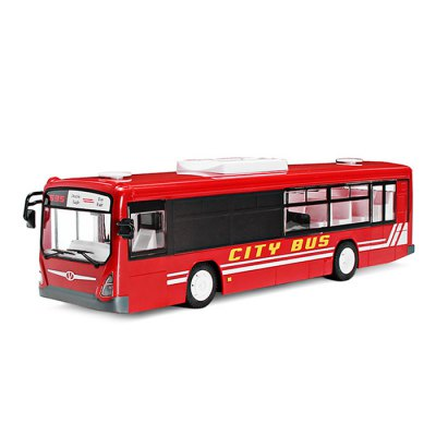 Double E E635 - 001 1:14 2.4GHz 4CH RC Bus - RTRRC Cars<br>Double E E635 - 001 1:14 2.4GHz 4CH RC Bus - RTR<br><br>Age: Above 6 years old<br>Brand: Double E<br>Car Power: Built-in rechargeable battery<br>Channel: 4-Channels<br>Charging Time: 5 Hours<br>Detailed Control Distance: 25~30m<br>Drive Type: RWD ( rear-wheel drive )<br>Features: Radio Control<br>Material: ABS, Electronic Components<br>Motor Type: Brushed Motor<br>Package Contents: 1 x RC Bus ( Battery Included ), 1 x Transmitter, 1 x Charger, 1 x English Manual<br>Package size (L x W x H): 43.50 x 12.80 x 28.00 cm / 17.13 x 5.04 x 11.02 inches<br>Package weight: 1.3500 kg<br>Product size (L x W x H): 33.00 x 8.00 x 8.80 cm / 12.99 x 3.15 x 3.46 inches<br>Product weight: 1.0000 kg<br>Proportion: 1:14<br>Racing Time: 20mins<br>Remote Control: 2.4GHz Wireless Remote Control<br>Transmitter Power: 2 x 1.5V AA battery (not included)<br>Type: Model Car