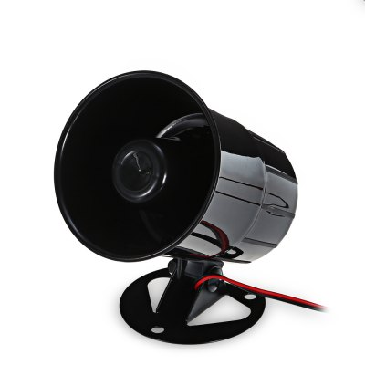 15W 12V Alarm Sound Horn Car Speaker with ChargerOther Car Gadgets<br>15W 12V Alarm Sound Horn Car Speaker with Charger<br><br>Apply To Car Brand: Universal<br>Compatible with: Universal<br>Package Contents: 1 x 15W 12V Alarm Sound Horn Car Speaker with Charger<br>Package size (L x W x H): 10.00 x 10.50 x 12.50 cm / 3.94 x 4.13 x 4.92 inches<br>Package weight: 0.4230 kg<br>Product size (L x W x H): 11.00 x 8.90 x 8.90 cm / 4.33 x 3.5 x 3.5 inches<br>Product weight: 0.3570 kg<br>Working Voltage: 6 - 12V