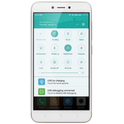 Xiaomi Redmi 4X 4G SmartphoneCell phones<br>Xiaomi Redmi 4X 4G Smartphone<br><br>2G: GSM B2/B3/B5/B8<br>3G: WCDMA B1/B2/B5/B8<br>4G: FDD-LTE B1/B3/B5/B7/B8<br>Additional Features: Browser, Fingerprint recognition, Calendar, Calculator, Bluetooth, Alarm, 4G, Fingerprint Unlocking, Wi-Fi, Proximity Sensing, People, MP4, MP3, Light Sensing, Gravity Sensing, GPS, 3G<br>Back camera: 13.0MP, with flash light and AF<br>Battery Capacity (mAh): 4100mAh<br>Battery Type: Non-removable<br>Bluetooth Version: Bluetooth V4.2<br>Brand: Xiaomi<br>Camera Functions: Panorama Shot, Face Beauty, Face Detection<br>Camera type: Dual cameras (one front one back)<br>CDMA: CDMA 2000/1X BC0<br>Cell Phone: 1<br>Cores: 1.4GHz, Octa Core<br>CPU: Snapdragon 435<br>E-book format: TXT<br>External Memory: TF card up to 128GB (not included)<br>Front camera: 5.0MP<br>GPU: Adreno 505<br>I/O Interface: TF/Micro SD Card Slot, Speaker, Micro USB Slot, Micophone, 3.5mm Audio Out Port, 1 x Nano SIM Card Slot, 1 x Micro SIM Card Slot<br>Language: Indonesian, Malay, German, English, Spanish, French, Italian, Lithuanian, Hungarian, Uzbek, Polish, Portuguese, Romanian, Slovenian, Slovak, Vietnamese, Turkish, Czech, Croatian,  Russian, Ukrainian,<br>Music format: WAV, FLAC, MP3, AMR, AAC<br>Network type: GSM+CDMA+WCDMA+TD-SCDMA+FDD-LTE+TD-LTE<br>OS: MIUI 8<br>Package size: 15.90 x 9.00 x 5.00 cm / 6.26 x 3.54 x 1.97 inches<br>Package weight: 0.3120 kg<br>Picture format: JPEG, PNG, BMP, GIF<br>Power Adapter: 1<br>Product size: 13.92 x 7.00 x 0.87 cm / 5.48 x 2.76 x 0.34 inches<br>Product weight: 0.1480 kg<br>RAM: 2GB RAM<br>ROM: 16GB<br>Screen resolution: 1280 x 720 (HD 720)<br>Screen size: 5.0 inch<br>Screen type: Capacitive<br>Sensor: Accelerometer,Ambient Light Sensor,Gravity Sensor,Gyroscope,Infrared,Proximity Sensor<br>Service Provider: Unlocked<br>SIM Card Slot: Dual SIM, Dual Standby<br>SIM Card Type: Micro SIM Card, Nano SIM Card<br>SIM Needle: 1<br>TD-SCDMA: TD-SCDMA B34/B39<br>TDD/TD-LTE: TD-LTE B38/B39