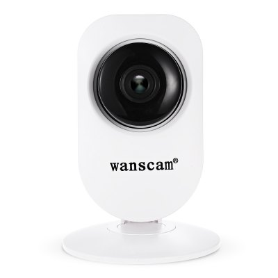 Wanscam HW0026 720P WiFi IP CameraIP Cameras<br>Wanscam HW0026 720P WiFi IP Camera<br><br>Alarm Notice: Email Photo,FTP Photo<br>APP: E-View7<br>APP Language: Chinese,Dutch,English,French,German,Italian,Japanese,Portuguese,Russian,Spanish,Swedish<br>Audio Input: Built-in mic.<br>Audio Output: Built-in speaker<br>Backlight Compensation: Yes<br>Brand: WANSCAM<br>Color: White<br>Compatible Operation Systems: Mac OS,Microsoft Windows 98 / ME / 2000 / XP,Windows 7,Windows 8<br>Connection: Wireless<br>Environment: Indoor<br>FOV: 90 degree<br>Frame Rate (FPS): 1 - 25fps<br>Image Adjustment: Brightness,Contrast,Sharpness<br>Infrared Distance: 10m<br>Infrared LED: 10 pcs LEDs<br>IP camera performance: Real-time video capture and recording, Support video control, Interphone, Motion Detection, Remote Control, Night Vision, Screenshot<br>IP Mode : Dynamic IP address, static IP address<br>Language: Danish,Dutch,English,Finnish,French,German,Indian,Japanese,Korea,Polish,Portuguese,Russian,Simplified Chinese,Swedish<br>Local-storage: Micro SD card up to 64GB<br>Maximum Monitoring Range: 10 - 15m<br>Minimum Illumination: 0.5 lLux<br>Mobile Access: Android,IOS<br>Model: HW0026<br>Motion Detection Distance: 10 - 15m<br>Online Visitor (Max.): 6<br>Operate Temperature (?): -10 - 50 Deh.C<br>Package Contents: 1 x IP Camera, 1 x English User Manual, 1 x Accessories Kit, 1 x Power Adapter ( US Plug )<br>Package size (L x W x H): 15.00 x 10.00 x 9.00 cm / 5.91 x 3.94 x 3.54 inches<br>Package weight: 0.2390 kg<br>Pixels: 1MP<br>Product size (L x W x H): 8.00 x 8.00 x 11.70 cm / 3.15 x 3.15 x 4.61 inches<br>Product weight: 0.1040 kg<br>Protocol: DDNS,DHCP,FTP,LAN,P2P,RTSP,TCP,UPNP<br>Resolution: 1280 x 720<br>S/N Ration: 48dB<br>Sensor: CMOS<br>Sensor size (inch): 1/4<br>Shape: Mini Camera<br>Technical Feature: Infrared, Pan/Tilt/Zoom<br>Video Compression Format: H.264<br>Video format: AVI<br>Video Resolution: 720P<br>Video Standard: NTSC,PAL<br>Waterproof: No<br>Web Browser: Firefox,Google Chrome,IE<br>White Balance: Yes<br>WiFi Distance : 100m without obstacles<br>Wireless: WiFi 802.11 b/g/n<br>Working Voltage: 5V / 1A