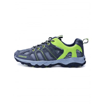 Outdoor Hiking Couple Mesh SneakersHiking Shoes<br>Outdoor Hiking Couple Mesh Sneakers<br><br>Available Size: 35, 36, 37, 38, 39, 40 ,41, 42, 43, 44<br>Features: Anti-slip, Breathable, Durable<br>Gender: Unisex<br>Highlights: Breathable<br>Package Contents: 1 x Pair of Shoes<br>Package size: 33.00 x 22.00 x 13.00 cm / 12.99 x 8.66 x 5.12 inches<br>Package weight: 1.0000 kg<br>Product weight: 0.8000 kg<br>Season: Winter, Summer, Spring, Autumn<br>Sole Material: Rubber<br>Upper Height: Low