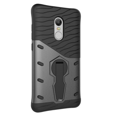 Luanke TPU Bumper Case CoverCases &amp; Leather<br>Luanke TPU Bumper Case Cover<br><br>Brand: Luanke<br>Compatible Model: Redmi Note 4 / 4X<br>Features: Anti-knock, Back Cover, Cases with Stand<br>Mainly Compatible with: Xiaomi<br>Material: TPU, PC<br>Package Contents: 1 x Phone Case<br>Package size (L x W x H): 21.00 x 13.00 x 2.00 cm / 8.27 x 5.12 x 0.79 inches<br>Package weight: 0.0640 kg<br>Product Size(L x W x H): 15.80 x 8.40 x 1.00 cm / 6.22 x 3.31 x 0.39 inches<br>Product weight: 0.0380 kg<br>Style: Cool
