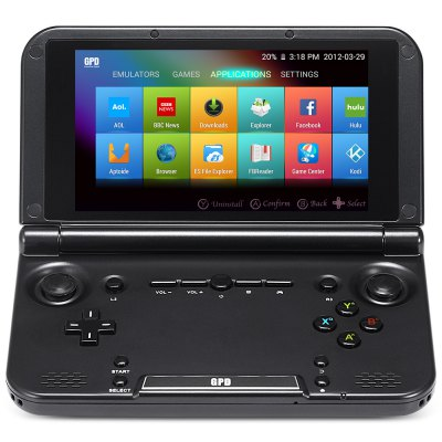 5 inch Gpd XD Game Tablet PCTablet PCs<br>5 inch Gpd XD Game Tablet PC<br><br>3.5mm Headphone Jack: Yes, Yes<br>3D Games: Supported, Supported<br>Additional Features: Browser, Java, Browser, Wi-Fi, Java, Wi-Fi<br>Battery / Run Time (up to): 6 hours video playing time, 6 hours video playing time<br>Battery Capacity: 6000mAh, 6000mAh<br>Brand: GPD, GPD<br>Camera type: No camera, No camera<br>Core: Quad Core, Quad Core, 600MHz, 600MHz<br>CPU: RK3288, RK3288<br>CPU Brand: Rockchip, Rockchip<br>English Manual : 1, 1<br>G-sensor: Supported, Supported<br>GPU: Mali-764, Mali-764<br>IPS: Yes, Yes<br>Languages: English,French,German,Italian,Russian,Spanish, English,French,German,Italian,Russian,Spanish<br>MIC: Supported, Supported<br>Micro HDMI: Yes, Yes<br>Micro USB Slot: Yes, Yes<br>Note: If you need any specific language other than English and you must leave us a message when you checkout, If you need any specific language other than English and you must leave us a message when you checkout<br>OS System: Android 4.4, Android 4.4<br>Package size: 19.00 x 17.00 x 5.20 cm / 7.48 x 6.69 x 2.05 inches, 19.00 x 17.00 x 5.20 cm / 7.48 x 6.69 x 2.05 inches<br>Package weight: 0.6230 kg, 0.6230 kg<br>Power Adapter: 1, 1<br>Product size: 15.40 x 8.80 x 2.40 cm / 6.06 x 3.46 x 0.94 inches, 15.40 x 8.80 x 2.40 cm / 6.06 x 3.46 x 0.94 inches<br>Product weight: 0.3130 kg, 0.3130 kg<br>RAM: 2GB, 2GB<br>ROM: 32GB, 32GB<br>Screen Protector: 1, 1<br>Screen resolution: 1280 x 720 (HD 720), 1280 x 720 (HD 720)<br>Screen size: 5 inch, 5 inch<br>Screen type: Capacitive, Capacitive<br>Skype: Supported, Supported<br>Speaker: Supported, Supported<br>Tablet PC: 1, 1<br>TF card slot: Yes, Yes<br>Type: Game Tablet, Game Tablet<br>USB Cable: 1, 1<br>WIFI: 802.11b/g/n wireless internet, 802.11b/g/n wireless internet<br>Youtube: Supported, Supported