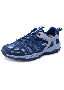 Outdoor Hiking Couple Mesh Sneakers