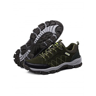 Water-resistant Lovers Hiking ShoesHiking Shoes<br>Water-resistant Lovers Hiking Shoes<br><br>Available Size: 35, 36, 37, 38, 39, 40, 41, 42, 43, 44<br>Closure Type: Lace-Up<br>Features: Water Resistant, Sweat-absorbing, Shock-absorbing, Lightweight, Durable, Crashworthy, Breathable, Anti-slip<br>Gender: Unisex<br>Highlights: Sweat Absorbing, Breathable<br>Package Contents: 1 x Pair of Shoes<br>Package size: 33.00 x 23.00 x 12.00 cm / 12.99 x 9.06 x 4.72 inches<br>Package weight: 1.1030 kg<br>Product weight: 0.6120 kg<br>Season: Summer, Spring, Autumn<br>Type: Hiking Shoes