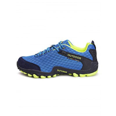 Air Mesh Lovers Hiking ShoesHiking Shoes<br>Air Mesh Lovers Hiking Shoes<br><br>Available Size: 35, 36, 37, 38, 39, 40, 41, 42, 43, 44<br>Closure Type: Lace-Up<br>Features: Sweat-absorbing, Shock-absorbing, Lightweight, Durable, Crashworthy, Breathable, Anti-slip<br>Gender: Unisex<br>Highlights: Soft, Breathable, Sweat Absorbing<br>Package Contents: 1 x Pair of Shoes<br>Package size: 33.00 x 22.00 x 12.00 cm / 12.99 x 8.66 x 4.72 inches<br>Package weight: 1.0300 kg<br>Product weight: 0.8000 kg<br>Season: Summer, Spring, Autumn<br>Sole Material: Rubber<br>Type: Hiking Shoes