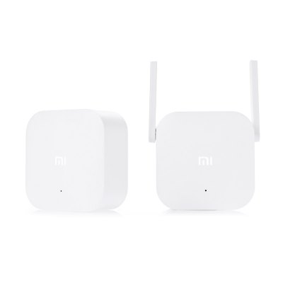 Original Xiaomi WiFi HomePlugWireless Routers<br>Original Xiaomi WiFi HomePlug<br><br>Brand: Xiaomi<br>Brand Name: Xiaomi<br>Built-in VPN: Not Support<br>DC Port: No<br>Firewall Settings: Support<br>Frequency Range: 100Hz - 16KHz<br>Gain dBi: 3dBi<br>Interface: LAN<br>LAN Ports: Under 2 ports<br>Max. LAN Data Rate: 300Mbps<br>Network Communication: WiFi<br>Network Protocols: IEEE 802.11n<br>Package size: 22.00 x 15.00 x 7.00 cm / 8.66 x 5.91 x 2.76 inches<br>Package weight: 0.4250 kg<br>Packing List: 1 x Host, 1 x Sub-machine<br>Product weight: 0.1860 kg<br>Quantity of Antenna: 2<br>Router Connectivity Type: Wireless<br>Suitable for: Mobile, Pad, PC, Andriod TV Box<br>Supports System: Android, IOS<br>Transmission Rate: 300Mbps<br>Type: Router<br>Usage: Home use<br>WiFi Network Frequency: 2.4GHz<br>Wireless Security: WPA-PSK, WPA2-PSK<br>Wireless Standard: Wireless AC,Wireless G,Wireless N