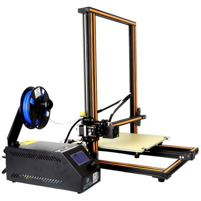 CR - 10 3D Desktop DIY Printer3D Printers, 3D Printer Kits<br>CR - 10 3D Desktop DIY Printer<br><br>Brand: Creality<br>Model: CR - 10<br>Nozzle diameter: 0.4mm<br>Memory card offline print: SD card<br>LCD Screen: Yes<br>Print speed: 80mm / s<br>File format: G-code,JPG,OBJ,STL<br>Material diameter: 1.75mm<br>Host computer software: Cura<br>Packing Type: unassembled packing<br>Product weight: 10.3000 kg<br>Package weight: 13.4000 kg<br>Product size: 54.00 x 64.00 x 31.00 cm / 21.26 x 25.2 x 12.2 inches<br>Package size: 54.00 x 64.00 x 31.00 cm / 21.26 x 25.2 x 12.2 inches<br>Packing Contents: 1 x CR - 10 3D Desktop DIY Printer Kit
