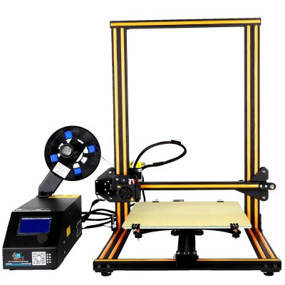 Creality3D CR - 10 3D Desktop DIY Printer3D Printers, 3D Printer Kits<br>Creality3D CR - 10 3D Desktop DIY Printer<br><br>Brand: Creality<br>File format: STL, OBJ, JPG, G-code<br>Host computer software: Cura<br>LCD Screen: Yes<br>Material diameter: 1.75mm<br>Memory card offline print: SD card<br>Model: CR - 10<br>Nozzle diameter: 0.4mm<br>Package size: 64.00 x 53.00 x 27.00 cm / 25.2 x 20.87 x 10.63 inches<br>Package weight: 14.0000 kg<br>Packing Contents: 1 x Creality3D CR - 10 3D Desktop DIY Printer Kit<br>Packing Type: unassembled packing<br>Print speed: 80mm / s<br>Product size: 61.50 x 60.00 x 49.00 cm / 24.21 x 23.62 x 19.29 inches<br>Product weight: 13.0000 kg