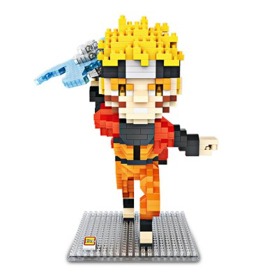 LOZ Cartoon Figure Style ABS Building Brick ToyBlock Toys<br>LOZ Cartoon Figure Style ABS Building Brick Toy<br><br>Brand: LOZ<br>Completeness: Semi-finished Product<br>Gender: Unisex<br>Materials: ABS<br>Package Contents: 690 x Module<br>Package size: 10.50 x 10.50 x 10.50 cm / 4.13 x 4.13 x 4.13 inches<br>Package weight: 0.1850 kg<br>Product size: 12.20 x 12.20 x 16.00 cm / 4.8 x 4.8 x 6.3 inches<br>Product weight: 0.1600 kg<br>Stem From: Japan<br>Suitable Age: Kid<br>Theme: Movie and TV<br>Type: Building