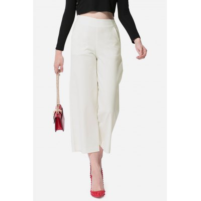 Solid Color Straight Women Loose PantsPants<br>Solid Color Straight Women Loose Pants<br><br>Elasticity: Micro-elastic<br>Fabric Type: Broadcloth<br>Fit Type: Loose<br>Length: Ninth<br>Material: Cotton<br>Package Contents: 1 x Pants<br>Package Size ( L x W x H ): 35.00 x 4.00 x 28.00 cm / 13.78 x 1.57 x 11.02 inches<br>Package Weights: 0.7840<br>Pant Style: Straight<br>Waist Type: High