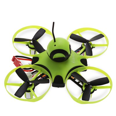 Ideafly Octopus 90mm Micro FPV Racing Drone - BNFMicro Brushed Racer<br>Ideafly Octopus 90mm Micro FPV Racing Drone - BNF<br><br>Battery (mAh): 300mAh<br>Battery Coulomb: 30C<br>Battery Size: 4.3 x 1.6 x 1.1cm<br>Brand: Ideafly<br>Charger Power Supply: DC<br>Charging Time.: 10 minutes<br>CW / CCW: CCW,CW<br>Flight Controller Type: F3<br>Flying Time: 5~6mins<br>Input Voltage (V)  : 5V<br>Material: ABS<br>Max. Continuous Current (A): 0.15A<br>Model: 8520<br>Motor Type: Brushed Motor<br>Output Voltage (V)  : 4.2V<br>Package Contents: 1 x Drone, 1 x Propeller Puller, 4 x Spare Propeller, 1 x USB Charger, 1 x English Manual<br>Package size (L x W x H): 20.00 x 15.00 x 6.00 cm / 7.87 x 5.91 x 2.36 inches<br>Package weight: 0.1830 kg<br>Plug Type: JST<br>Product size (L x W x H): 11.10 x 11.10 x 5.00 cm / 4.37 x 4.37 x 1.97 inches<br>Product weight: 0.0600 kg<br>Sensor: CMOS<br>Shaft Diameter: 1mm<br>Size: Micro<br>Type: Frame Kit<br>Version: BNF<br>Video Resolution: 600TVL<br>Video Standards: NTSC,PAL