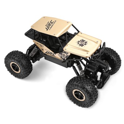 JJRC Q50 1:18 RC Off-road Car - RTRRC Cars<br>JJRC Q50 1:18 RC Off-road Car - RTR<br><br>Brand: JJRC<br>Car Power: 7.4V 500mAh lithium-ion battery ( built-in )<br>Detailed Control Distance: 50~60m<br>Drive Type: 4 WD<br>Features: Radio Control<br>Functions: Forward/backward, Turn left/right<br>Material: Electronic Components, Alloy, ABS<br>Motor Type: Brushed Motor<br>Package Contents: 1 x RC Car ( Battery Included ), 1 x Transmitter ( Battery Included ), 1 x USB Cable, 1 x Chinese-English Manual<br>Package size (L x W x H): 28.50 x 17.40 x 21.40 cm / 11.22 x 6.85 x 8.43 inches<br>Package weight: 1.0800 kg<br>Product size (L x W x H): 25.00 x 16.00 x 14.00 cm / 9.84 x 6.3 x 5.51 inches<br>Product weight: 0.5440 kg<br>Proportion: 1:18<br>Racing Time: 20mins<br>Remote Control: 2.4GHz Wireless Remote Control<br>Transmitter Power: 2 x 1.5V AA battery(included)<br>Type: Crawler Car