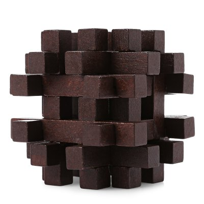 Block Interlocking Jigsaw Puzzle Brain Teaser
