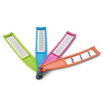4PCS Culinary Coarse Cheese Grater