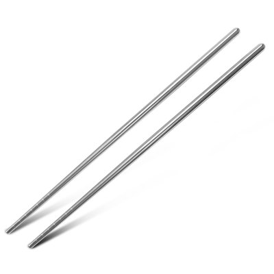 5 Pairs Stainless Steel Chopsticks