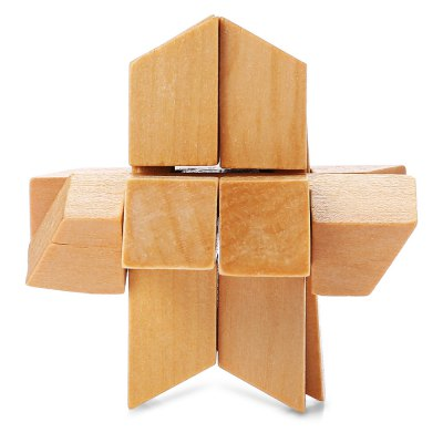 Intelligent Wooden Interlocking Jigsaw Puzzle ToyLogic &amp; Puzzle Toys<br>Intelligent Wooden Interlocking Jigsaw Puzzle Toy<br><br>Gender: Unisex<br>Materials: Wood<br>Package Contents: 1 x Puzzle Toy Set<br>Package size: 9.00 x 7.00 x 6.00 cm / 3.54 x 2.76 x 2.36 inches<br>Package weight: 0.0950 kg<br>Product size: 8.00 x 8.00 x 8.00 cm / 3.15 x 3.15 x 3.15 inches<br>Product weight: 0.0450 kg<br>Stem From: China<br>Style: Geometric Shape<br>Theme: Other<br>Type: Jigsaw Puzzle