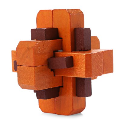 Intelligent Wooden Interlocking Jigsaw Puzzle