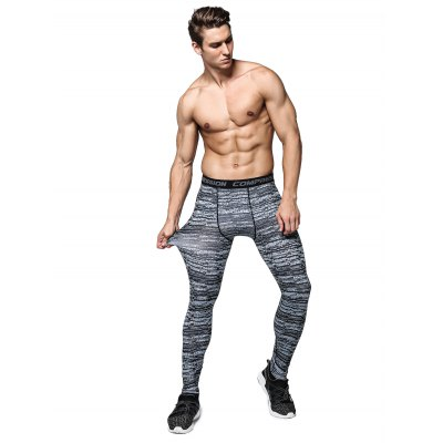 Striped Training Compression TightsWeight Lifting Clothes<br>Striped Training Compression Tights<br><br>Color: Black<br>Features: Breathable, High elasticity, Quick Dry<br>Gender: Men<br>Material: Polyester<br>Package Content: 1 x Pair of Pants<br>Package size: 30.00 x 25.00 x 2.00 cm / 11.81 x 9.84 x 0.79 inches<br>Package weight: 0.1800 kg<br>Product weight: 0.1500 kg<br>Size: 2XL,3XL,L,M,XL<br>Types: Leggings