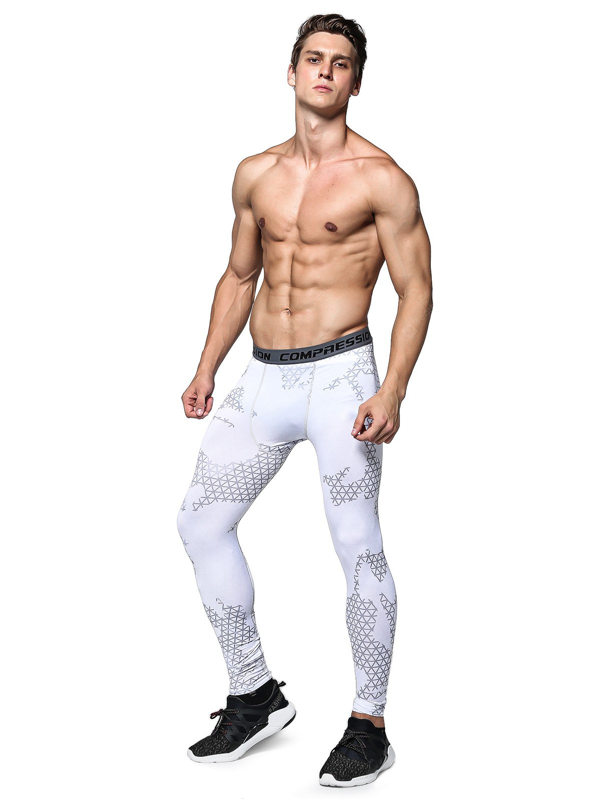 Training Compression Tights with Plaid Pattern