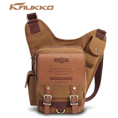KAUKKO SG255 4L Men Business Style Sling Bag