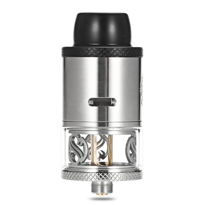 Original Augvape 3.5ml RDTA AtomizerRebuildable Atomizers<br>Original Augvape 3.5ml RDTA Atomizer<br><br>Brand: Augvape<br>Material: Stainless Steel, Glass<br>Overall Diameter: 24mm<br>Package Contents: 1 x Augvape RDTA, 1 x Screwdriver, 1 x Glass Tank, 1 x Accessory Bag<br>Package size (L x W x H): 4.50 x 4.50 x 10.30 cm / 1.77 x 1.77 x 4.06 inches<br>Package weight: 0.0930 kg<br>Product size (L x W x H): 5.50 x 2.40 x 2.40 cm / 2.17 x 0.94 x 0.94 inches<br>Product weight: 0.0470 kg<br>Rebuildable Atomizer: RBA,RDA,RTA<br>Resistance : 0.1 ohm<br>Thread: 510<br>Type: Rebuildable Atomizer, Rebuildable Drippers, Rebuildable Tanks