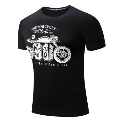 FREDD MARSHALL Printed Motorcycle T ShirtsMens Short Sleeve Tees<br>FREDD MARSHALL Printed Motorcycle T Shirts<br><br>Brand: FREDDMARSHALL<br>Color: Black,Gray<br>Material: Cotton<br>Neckline: Round Neck<br>Package Content: 1 x FREDD MARSHALL T Shirt<br>Package size: 36.00 x 25.00 x 1.00 cm / 14.17 x 9.84 x 0.39 inches<br>Package weight: 0.2200 kg<br>Product weight: 0.1900 kg<br>Season: Autumn, Summer, Winter, Spring<br>Size: L,M,S,XL,XXL<br>Sleeve Length: Short Sleeves<br>Style: Casual