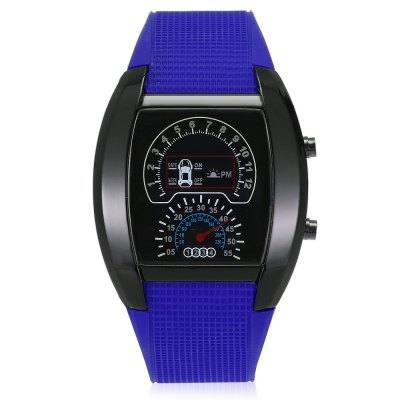 HZ479 Multifunctional LED Sports WatchLED Watches<br>HZ479 Multifunctional LED Sports Watch<br><br>Available Color: Black,Blue,Coffee,Red,White<br>Band material: Rubber<br>Band size: 24.50 x 2.50 cm / 9.65 x 0.98 inches<br>Case material: ABS<br>Dial size: 4.50 x 4.50 x 1.00 cm / 1.77 x 1.77 x 0.39 inches<br>Display type: Digital<br>Movement type: Digital watch<br>Package Contents: 1 x LED Watch<br>Package size (L x W x H): 11.00 x 5.50 x 5.50 cm / 4.33 x 2.17 x 2.17 inches<br>Package weight: 0.1850 kg<br>People: Children table<br>Product size (L x W x H): 24.50 x 4.50 x 1.00 cm / 9.65 x 1.77 x 0.39 inches<br>Product weight: 0.0700 kg<br>Shape of the dial: Arch<br>Special features: Date<br>Watch style: Casual<br>Wearable length: 18.80 - 23.00 cm / 7.40 - 9.06 inches