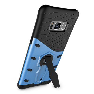 Back Case for Samsung Galaxy S8Samsung Cases/Covers<br>Back Case for Samsung Galaxy S8<br><br>Compatible with: Samsung Galaxy S8<br>Features: Anti-knock, Back Cover, Cases with Stand<br>Material: PC, TPU<br>Package Contents: 1 x Phone Case<br>Package size (L x W x H): 21.70 x 14.00 x 2.00 cm / 8.54 x 5.51 x 0.79 inches<br>Package weight: 0.0630 kg<br>Product size (L x W x H): 15.50 x 7.50 x 1.00 cm / 6.1 x 2.95 x 0.39 inches<br>Product weight: 0.0360 kg<br>Style: Modern, Cool
