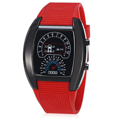 HZ479 Multifunctional LED Sports Watch