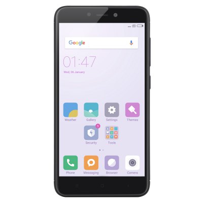 Xiaomi Redmi 4X 4G SmartphoneCell phones<br>Xiaomi Redmi 4X 4G Smartphone<br><br>2G: GSM B2/B3/B5/B8<br>3G: WCDMA B1/B2/B5/B8<br>4G: FDD-LTE B1/B3/B5/B7/B8<br>Additional Features: Calendar, Calculator, Browser, Bluetooth, Alarm, 4G, 3G, Fingerprint recognition, Fingerprint Unlocking, Wi-Fi, Proximity Sensing, People, MP4, MP3, Light Sensing, Gravity Sensing, GPS<br>Back camera: with flash light and AF, 13.0MP<br>Battery Capacity (mAh): 4100mAh<br>Battery Type: Non-removable<br>Bluetooth Version: Bluetooth V4.2<br>Brand: Xiaomi<br>Camera Functions: Face Detection, Panorama Shot, Face Beauty<br>Camera type: Dual cameras (one front one back)<br>CDMA: CDMA 2000/1X BC0<br>Cell Phone: 1<br>Cores: Octa Core, 1.4GHz<br>CPU: Snapdragon 435<br>E-book format: TXT<br>External Memory: TF card up to 128GB (not included)<br>Front camera: 5.0MP<br>GPU: Adreno 505<br>I/O Interface: 1 x Micro SIM Card Slot, Micophone, 1 x Nano SIM Card Slot, 3.5mm Audio Out Port, Micro USB Slot, TF/Micro SD Card Slot, Speaker<br>Language: Indonesian, Malay, German, English, Spanish, French, Italian, Lithuanian, Hungarian, Uzbek, Polish, Portuguese, Romanian, Slovenian, Slovak, Vietnamese, Turkish, Czech, Croatian, Russian, Ukrainian, B<br>Music format: FLAC, WAV, AMR, MP3, AAC<br>Network type: GSM+CDMA+WCDMA+TD-SCDMA+FDD-LTE+TD-LTE<br>Optional Version: 2GB RAM + 16GB ROM / 3GB RAM + 32GB ROM<br>OS: MIUI 8<br>Package size: 15.90 x 9.00 x 5.00 cm / 6.26 x 3.54 x 1.97 inches<br>Package weight: 0.3120 kg<br>Picture format: BMP, GIF, JPEG, PNG<br>Power Adapter: 1<br>Product size: 13.92 x 7.00 x 0.87 cm / 5.48 x 2.76 x 0.34 inches<br>Product weight: 0.1480 kg<br>RAM: 2GB RAM<br>ROM: 16GB<br>Screen resolution: 1280 x 720 (HD 720)<br>Screen size: 5.0 inch<br>Screen type: Capacitive<br>Sensor: Accelerometer,Ambient Light Sensor,Gravity Sensor,Gyroscope,Infrared,Proximity Sensor<br>Service Provider: Unlocked<br>SIM Card Slot: Dual SIM, Dual Standby<br>SIM Card Type: Micro SIM Card, Nano SIM Card<br>SIM Needle: 1<br>TD-SCDMA: TD-SCDMA B34/B39<br>TDD/TD-LTE: TD-LTE B38/B39/B40/B41(2555-2655MHz)<br>Type: 4G Smartphone<br>USB Cable: 1<br>Video format: MP4, MKV, M4V<br>Video recording: Yes<br>WIFI: 802.11b/g/n wireless internet<br>Wireless Connectivity: CDMA