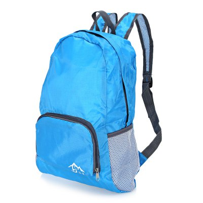 HONGJING 36951 Water-resistant Nylon 20L Folding BackpackBackpacks<br>HONGJING 36951 Water-resistant Nylon 20L Folding Backpack<br><br>Bag Capacity: 20L<br>Brand: HONGJING<br>Capacity: 11 - 20L<br>Features: Foldable, Ultra Light, Water Resistance<br>For: Casual, Cycling, Sports<br>Gender: Unisex<br>Material: Nylon<br>Package Contents: 1 x HONGJING 36951 Folding Backpack<br>Package size (L x W x H): 22.50 x 15.00 x 5.00 cm / 8.86 x 5.91 x 1.97 inches<br>Package weight: 0.1840 kg<br>Product size (L x W x H): 33.00 x 14.00 x 44.00 cm / 12.99 x 5.51 x 17.32 inches<br>Product weight: 0.1440 kg<br>Strap Length: 40  - 85cm<br>Style: Fashion<br>Type: Backpack