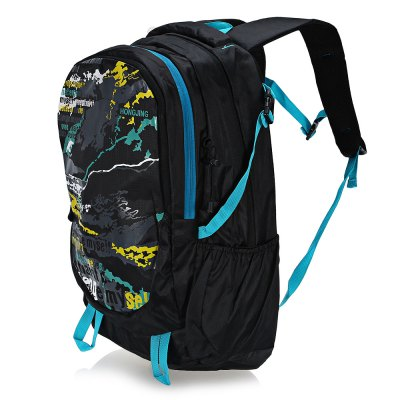 HONGJING 1040 Nylon 40L Camping Mountaineering BackpackBackpacks<br>HONGJING 1040 Nylon 40L Camping Mountaineering Backpack<br><br>Bag Capacity: 40L<br>Brand: HONGJING<br>Capacity: 31 - 40L<br>For: Camping, Climbing, Hiking, Traveling<br>Gender: Unisex<br>Material: Nylon<br>Package Contents: 1 x HONGJING 1040 Backpack<br>Package size (L x W x H): 32.00 x 25.00 x 8.00 cm / 12.6 x 9.84 x 3.15 inches<br>Package weight: 0.6600 kg<br>Product size (L x W x H): 31.00 x 20.00 x 48.00 cm / 12.2 x 7.87 x 18.9 inches<br>Product weight: 0.6100 kg<br>Strap Length: 50 - 85cm<br>Style: Fashion<br>Type: Backpack