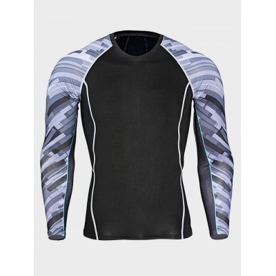 Quick-drying Sports Gym T ShirtsWeight Lifting Clothes<br>Quick-drying Sports Gym T Shirts<br><br>Features: Breathable, High elasticity, Quick Dry<br>Gender: Men<br>Material: Polyester<br>Package Content: 1 x T Shirt<br>Package size: 30.00 x 28.00 x 2.00 cm / 11.81 x 11.02 x 0.79 inches<br>Package weight: 0.2300 kg<br>Product weight: 0.1900 kg<br>Size: 2XL,3XL,4XL,L,M,XL<br>Types: Long Sleeves