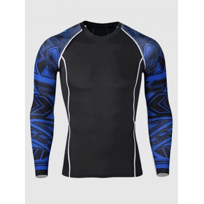 Long Sleeve Quick-drying Training T ShirtsWeight Lifting Clothes<br>Long Sleeve Quick-drying Training T Shirts<br><br>Color: Blue,Red<br>Features: Breathable, High elasticity, Quick Dry<br>Gender: Men<br>Material: Polyester<br>Package Content: 1 x T Shirt<br>Package size: 30.00 x 28.00 x 2.00 cm / 11.81 x 11.02 x 0.79 inches<br>Package weight: 0.2300 kg<br>Product weight: 0.1900 kg<br>Size: 2XL,3XL,4XL,L,M,XL<br>Types: Long Sleeves